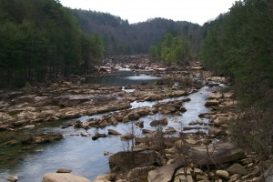 Ocoee River--Very Low!